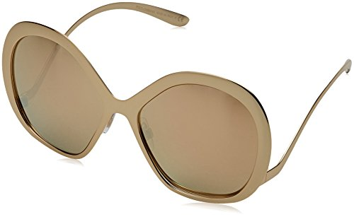 Dolce & Gabbana Women's Tropico Sunglasses, Gold/Gold, One - Dolcegabbana Sunglasses