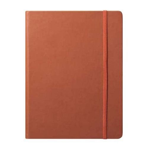 Eccolo World Traveler Cool Jazz Journal, Terracotta, 7 x 10 Inches (BC501T)