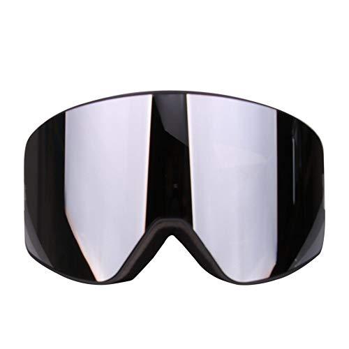 Marco Negro Gafas Snowboard Gafas y cilíndricas Dyyao Gafas esquí Plateadas  de de Lentes Dobles esquí ... e5908d1b18