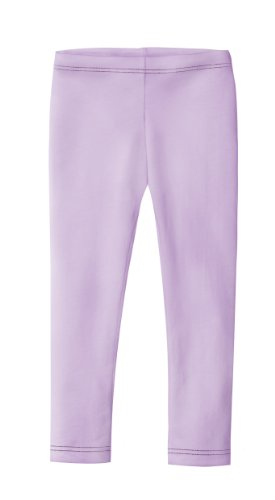 City Threads Girls' Leggings 100% Cotton for School Uniform Sports Coverage or Play Perfect for Sensitive Skin or SPD Sensory Friendly Clothing, Lavender, (Girls Tights Leggings)