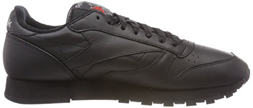 Reebok Classic Leather Archive, Sneaker Uomo Nero (Black/Carbon/Red)