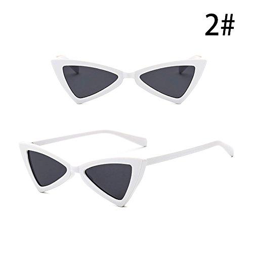 la Anti Sol Moda Personalidad Triángulo B ZHANGYUSEN Vintage Mujeres de G de Retro Gafas de de UV Gafas Exterior Accesorios ECFxwq