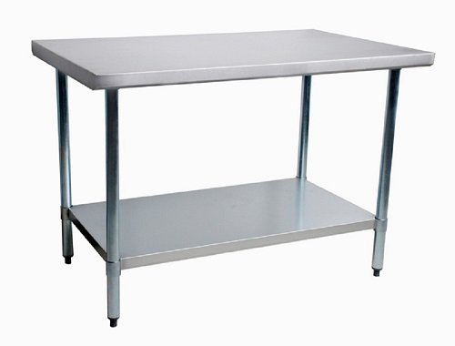 Thunder Group Work Table Stainless Steel Food Prep Restaurant Supply - Restaurant supply prep table