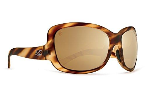 Kaenon Adult Avila Polarized Sunglasses, Driftwood / Brown 12 Gold, One ()