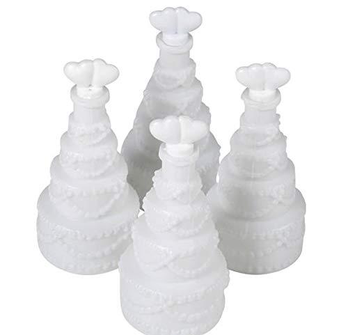 (Rhode Island Novelty Wedding Cake Bubbles | 24 Pieces |)