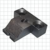 CL-40-SFC Carr Lane Manufacturing Serrated Fixed Edge Clamps, Low Nose: Screw Size 1/2-13