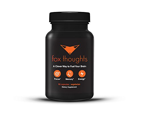 Fox Thoughts Supplement Alertness Concentration