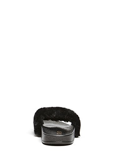 Logan Black Pool Guess Slides Women's Factory Fq0xOywA7