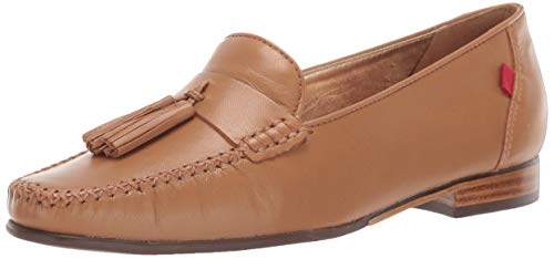 MARC JOSEPH NEW YORK Womens Leather Made in Brazil Liberty Park Loafer, tan Grainy, 10.5 M US