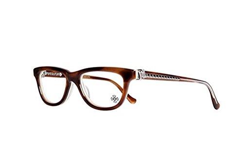Chrome Hearts - Grom - Eyeglasses (Demi Tortoise Bone, - Gold 18k Eyeglasses Frames