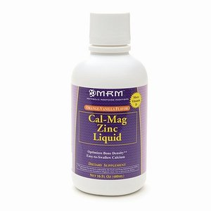 MRM Cal-Mag zinc liquide, Orange-Vanille 16 fl oz (480 ml)