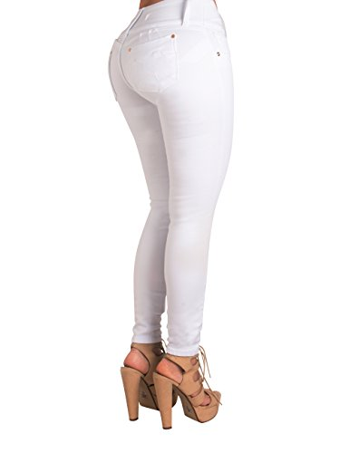 Curvify High Waisted Butt Lifting Stretch Jeans | Slimming Lift Skinny Jeans 877