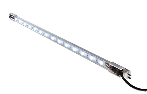 Elive Tube LED Aquarium Fish Tank Light, 10x Longer Lifetime Than Standard Lamps, T-5 and T-8 Fluorescent Lamp, 14 LEDs, 18 Inch, 3.0 Watt, White