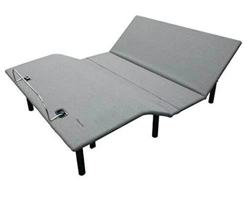 Pearington DK-42006 Queen Adjustable Multi Purpose Comfort Bed Base (660lbs Capacity) with Wireless Remote for Easy Access to Different Bed Positions