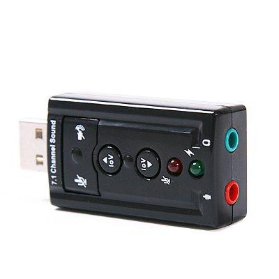 HDE 7.1 Channel USB External Sound Card Audio Adapter