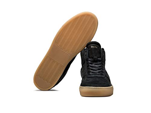Blue Nabuk A 43 Court Sneaker E D Mid T 7A1vf