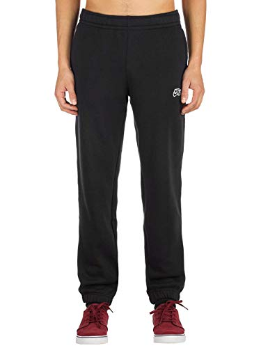 (Nike Men's SB Icon Fleece Essential Sweatpants (Medium, Black))
