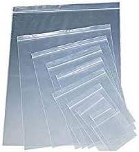 100 Clear Plastic 50mm Bags Baggy Grip Self Seal Resealable Zip Lock Baggies