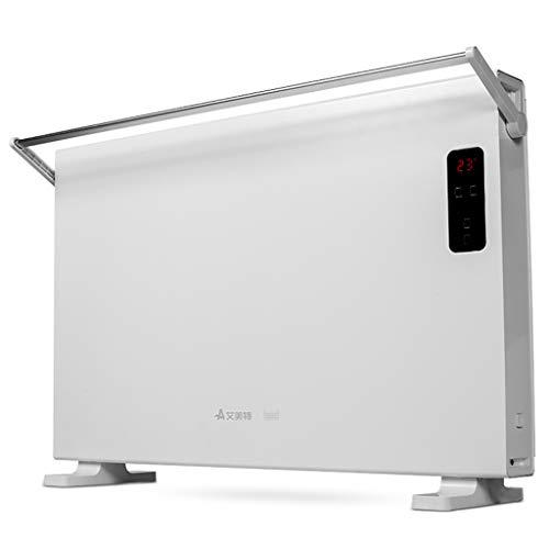 FXNN Calentador - hogar Inteligente Ahorro de energía pequeña calefacción Solar (Color : Blanco, Tamaño : 75 * 7.5 *...
