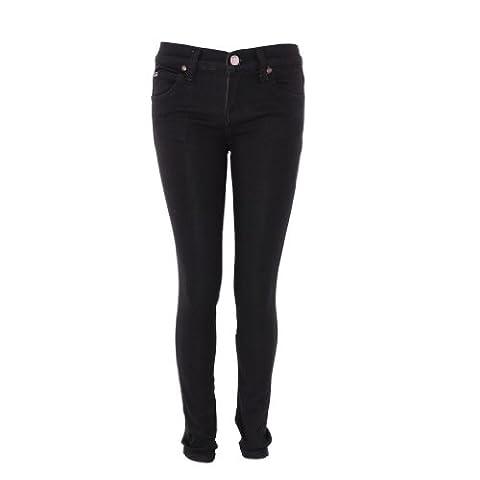 Pinc Premium Big Girls' Basic Skinny Jean 12 Black (Pinc Premium Toddler)