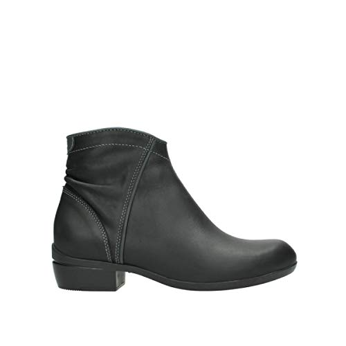 Wolky Comfort Boots Winchester WP - 50002 Black Leather - 37