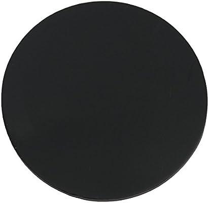 Tutoy 3pcs 1200m Redonda Negro Silicona óvalo Bases Modelo Soporte de 2mm de Espesor para Juegos de Mesa Wargames para: Amazon.es: Hogar