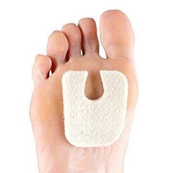 Dr. Jills Wide Felt 1/4 Thickness U-shaped Callus Pads (Pack 10)