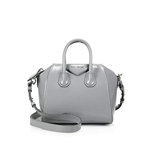 Givenchy Antigona Mini Glazed Pearl Grey BB05114014 Satchel