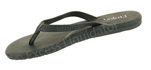 Flojos 170 Kvinners Eve Flat Tanga Flip-flop Sandaler Trekull