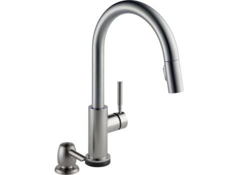 delta trask 19933t-spsd-dst touch kitchen faucet by Delta