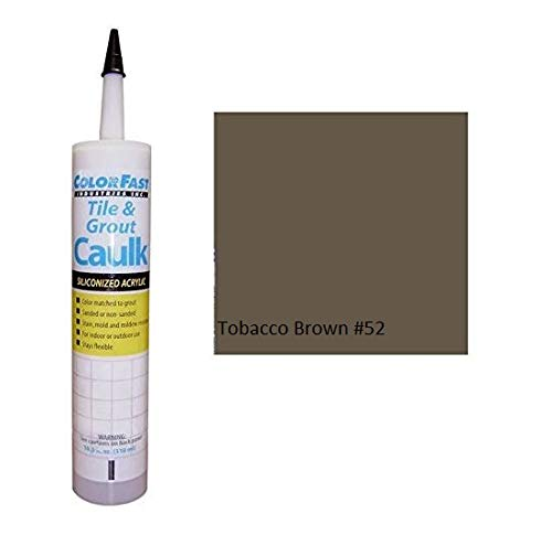 Color Fast Caulk Matched to Custom Building Products (Tobacco Brown Sanded)