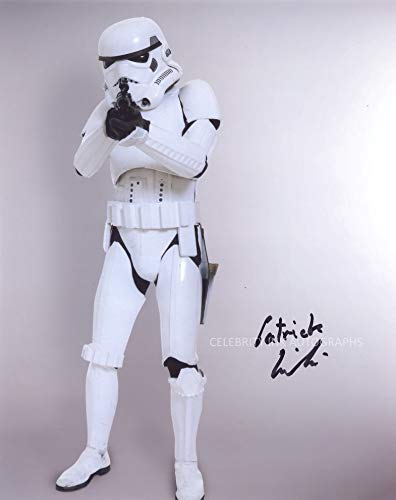 PATRICK GINTER as a Stormtrooper - Star Wars: The Empire Strikes Back GENUINE AUTOGRAPH