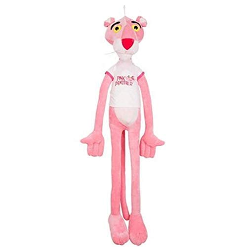 130CM L@LILI Small doll pink leopard plush leopard pink doll naughty leopard,130CM