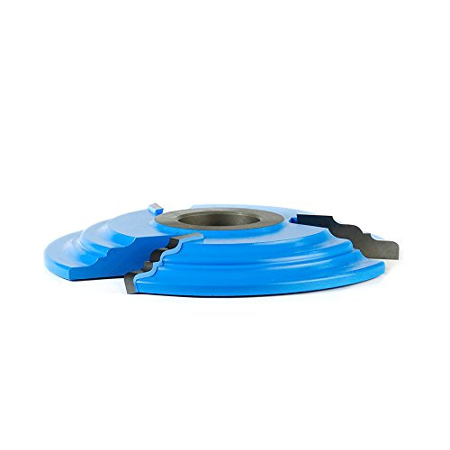 Amana Tool - SC509 Carbide Tipped 3-Wing Cove & Corner Round Raised Panel 5-1/2 Dia x 5/8 by Amana Tool