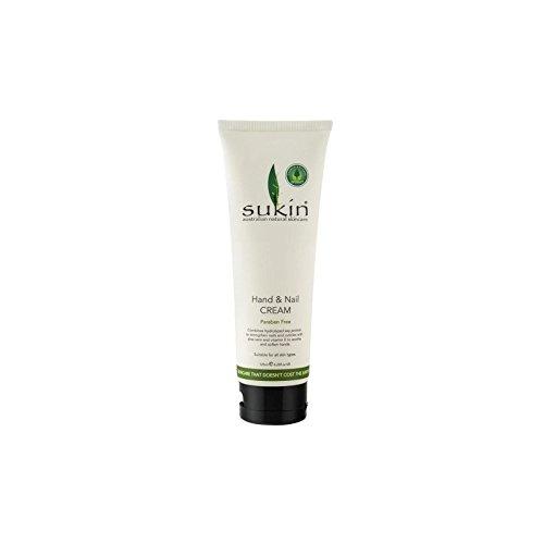 ハンド&ネイルクリーム(125ミリリットル) x4 - Sukin Hand & Nail Cream (125ml) (Pack of 4) [並行輸入品] B0722KJFZK