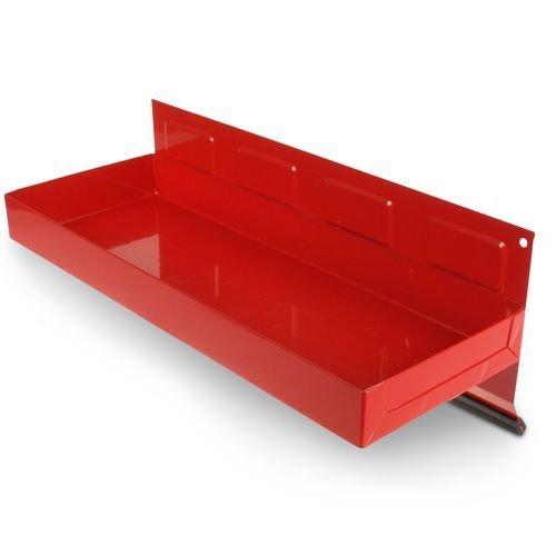 Werkzeugschale, magnetische Ablage, Haftschale, rot, 310 mm