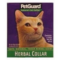Pet Guard Herbal Collar for Cat, 0.46 Ounce - 6 per case. by PetGuard