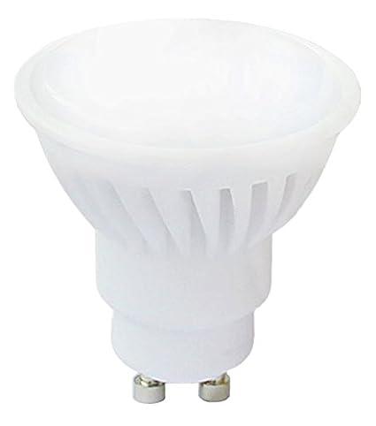 Bombilla LED, foco 10 W vatios=680 lumens luz blanca cálida, GU10 230 V, 120 nivel: Amazon.es: Iluminación