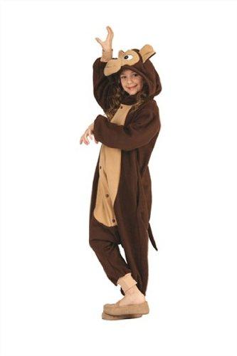 [RG Costumes 'Funsies' Morgan The Monkey, Child Medium/Size 8-10] (Monkey Costumes For Girl)