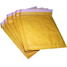 100 Gold Padded CD Size Bubble Envelopes/Mailer 165X170mm Envelope ...
