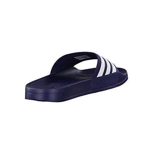 adidas Cf Adilette, Tongs Homme, Bleu (Maruni/Ftwbla/Maruni), 48 EU