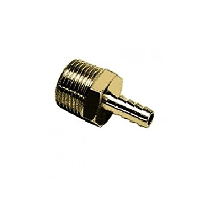 R1//2 and 14 mm Parker 0136 14 21-pk20 Adaptor Brass BSPT Tailpiece for Flexible Tubing Male Pack of 20