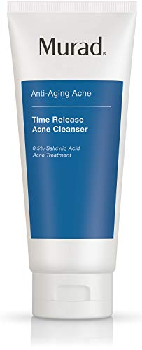 Murad Anti-Aging Acne Time Release Acne Cleanser - Salicylic Acid Cleanser for Blemish-Prone Skin - Anti-Aging Cleanser… 1