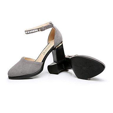 Chaussures LvYuan TalonNoir Décontracté formelles Confort Cuir Gros Chaussures Talons Chaussures Confort ruby à formelles Femme Automne Printemps ggx pqCxqwFE