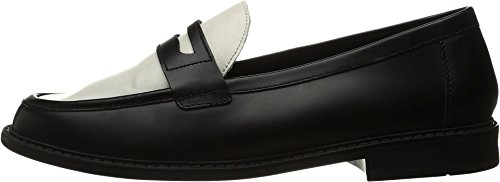 Cole Haan Pinch Campus Penny Loafers-Negro/Marfil