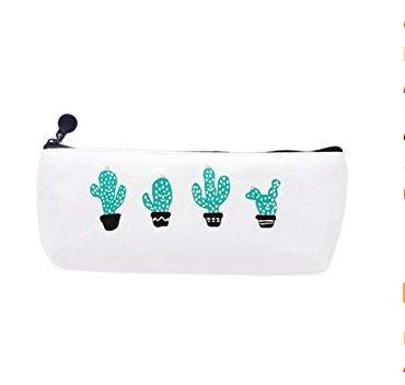 Banbo Yohi Simpatico astuccio in tela di cactus, astuccio per cosmetici, semplice astuccio per cancelleria, forniture per studenti (3#) BanboYohi