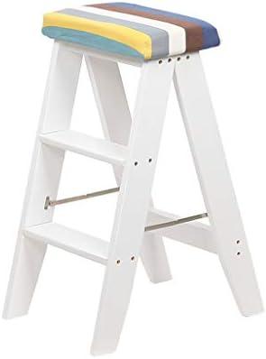 Amazon.com: Stepladder - Taburete plegable de 3 hilos para ...