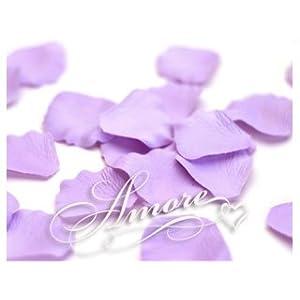 200 Wedding Artificial Silk Rose Petals Lavender-Lilac 1