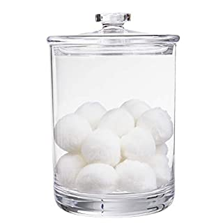 STORi 60-Ounce Premium Quality Clear Plastic Apothecary Jar