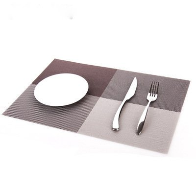 Amazon.com: DHmart Placemat Table mat Continental Waterproof ...